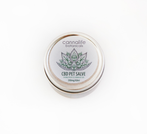 cbd pet salve, cannalife