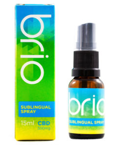 brio 300mg CBD sublingual spray, mota