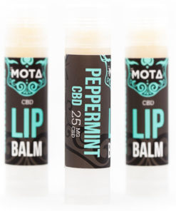 cbd lip balm mota, Peppermint 25mg CBD Lip Balm , mota