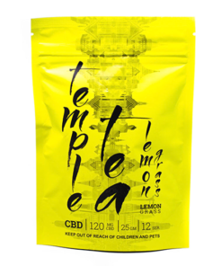 Lemon Grass Temple CBD Tea, mota