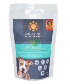 cbd serenity, cbd pet treats, pet treats