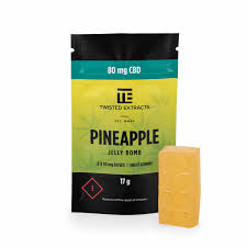 cbd edibles, pineapple